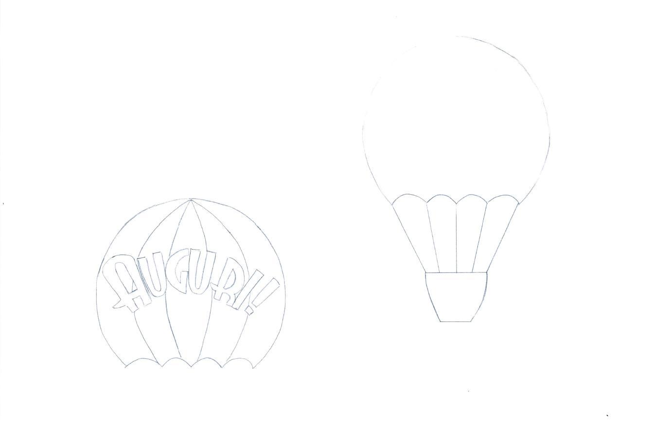 mongolfiera anonima da colorare mod