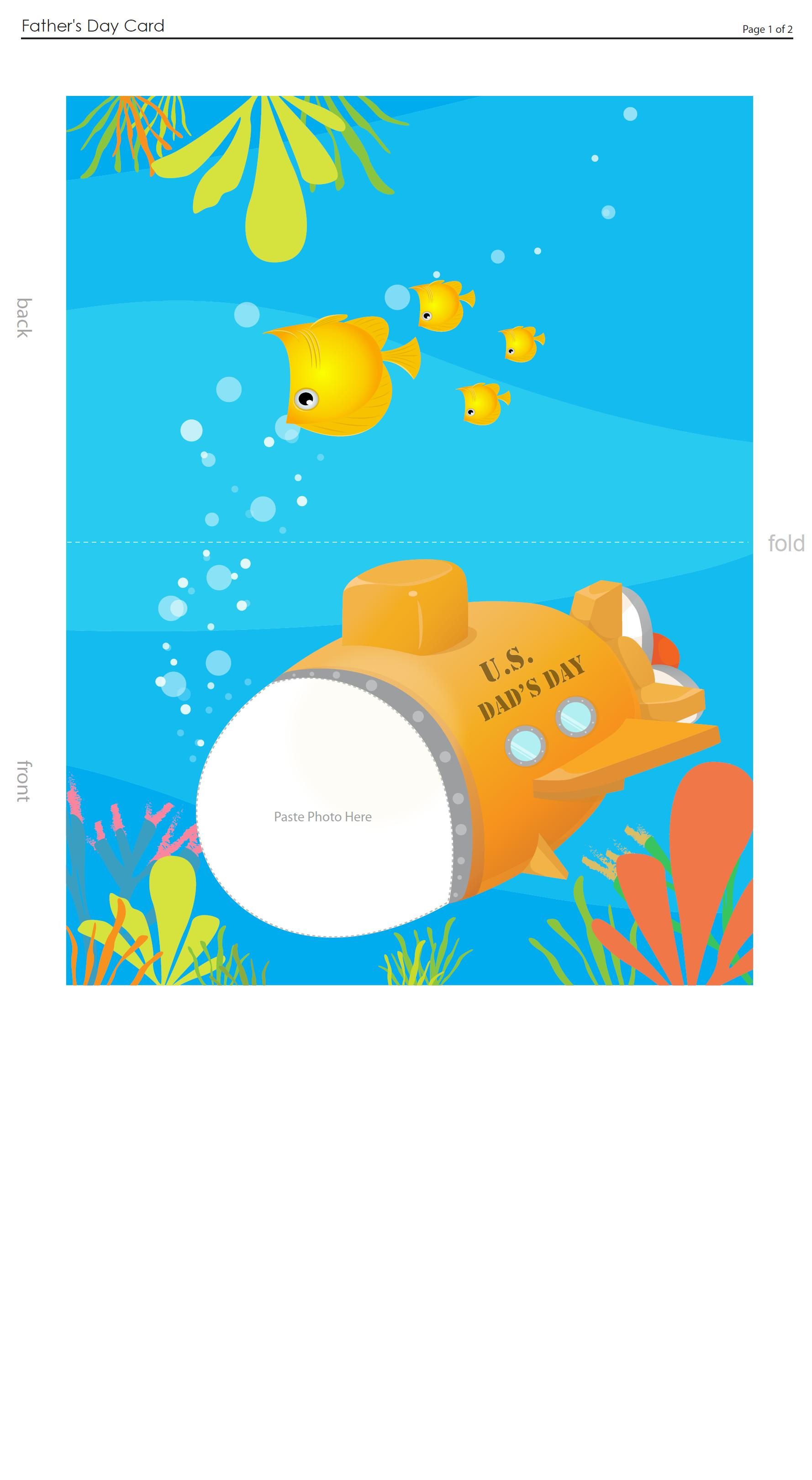 sottomarino papà per immagine
