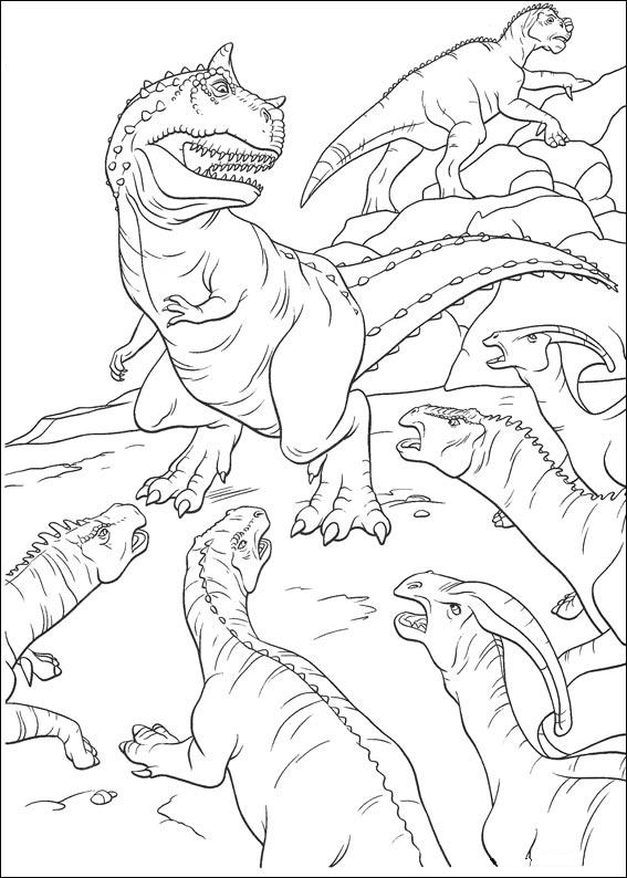 dinosauro 1 disegno