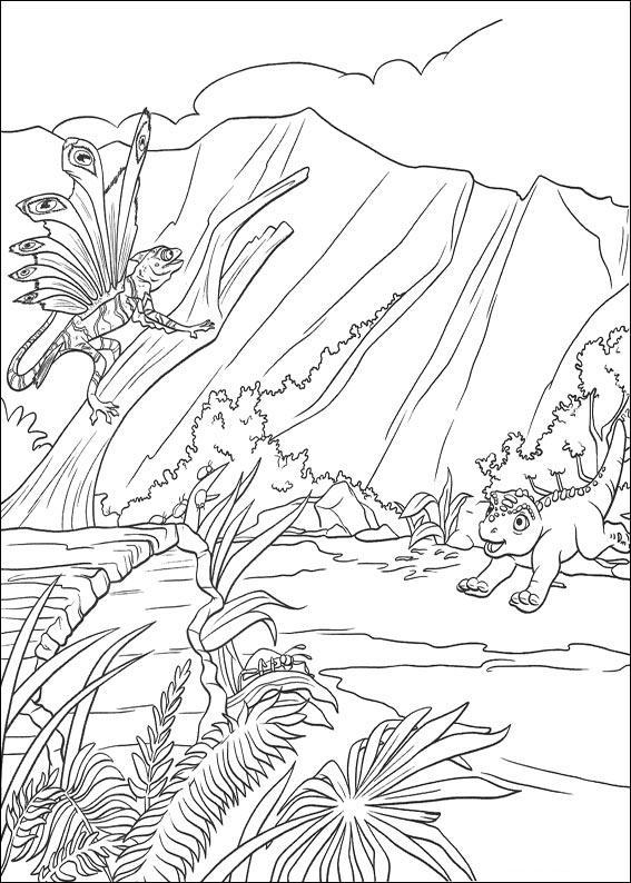 dinosauro disegno 10