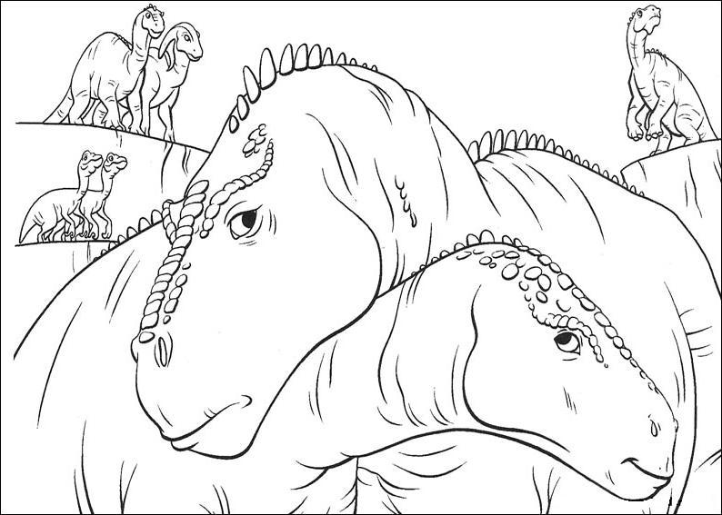dinosauro disegno 16