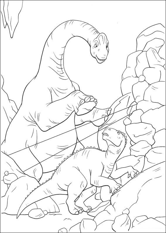 dinosauro disegno 22