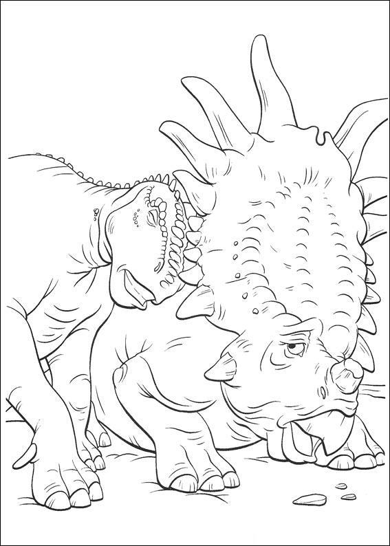 dinosauro disegno 25
