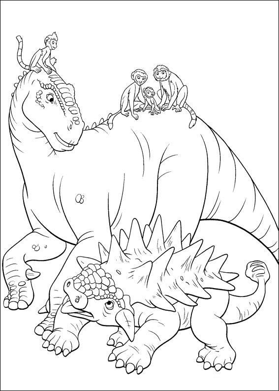 dinosauro disegno 4