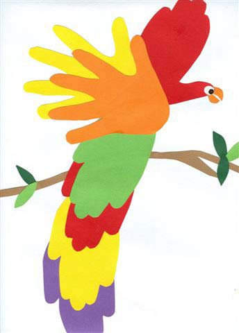 pappagallo lavoretto mamma