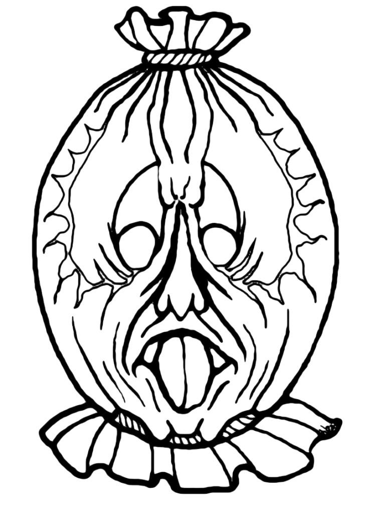 maschera spaventapasseri