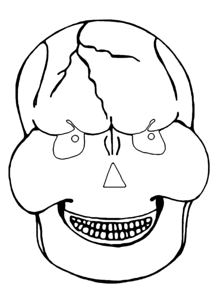maschera teschio 2