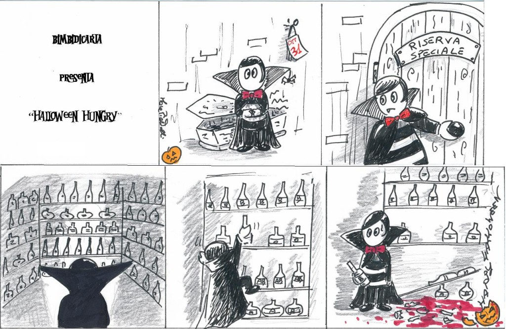 FUMETTO HALLOWEEN HUNGRY