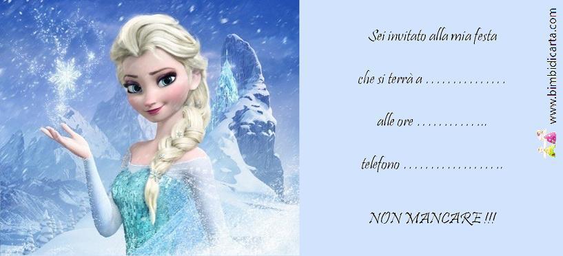 Frozen Elsa BOZZA